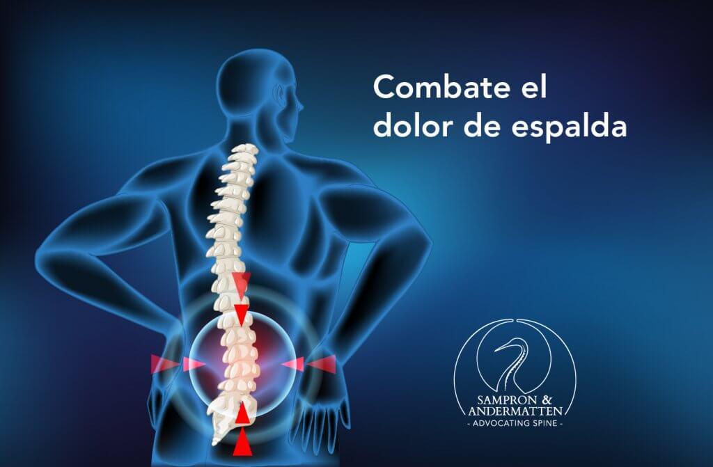 Combate dolor de espalda Gipuzcoa